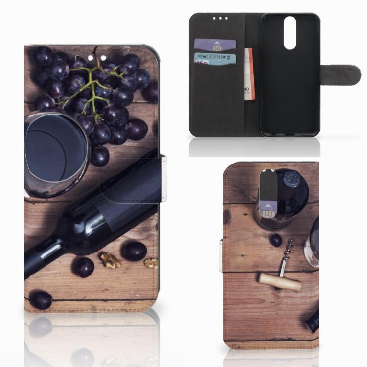 Huawei Mate 10 Lite Book Cover Wijn