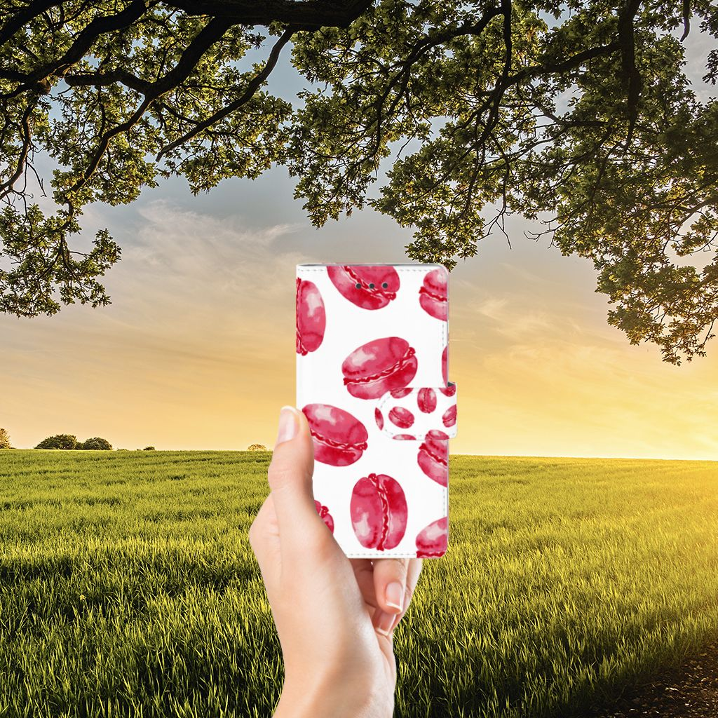 Huawei Ascend P8 Lite Boekhoesje Design Pink Macarons
