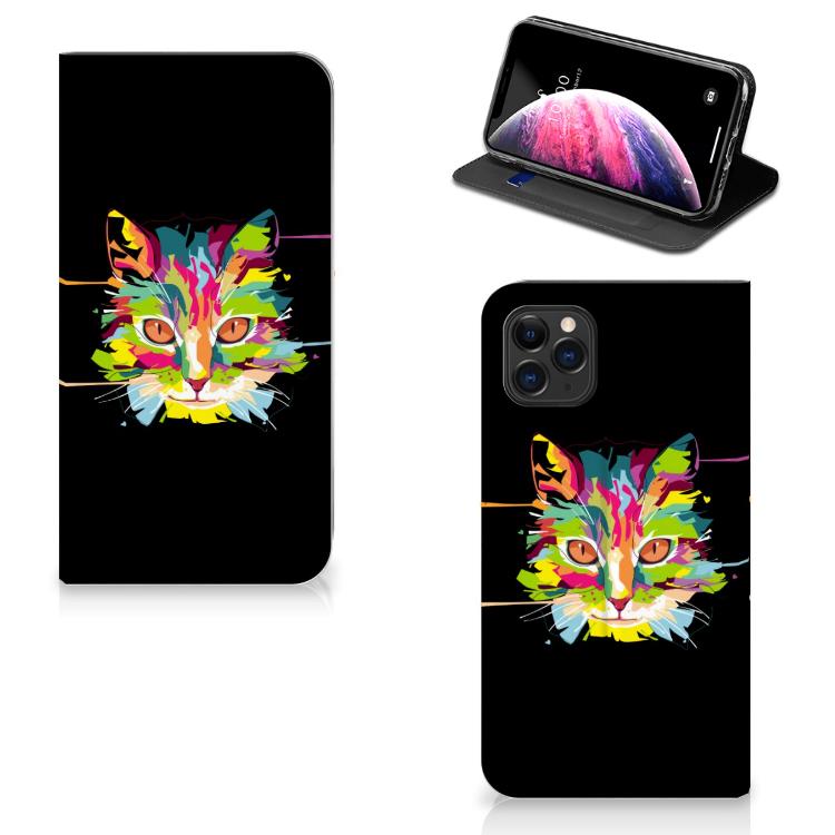Apple iPhone 11 Pro Max Magnet Case Cat Color