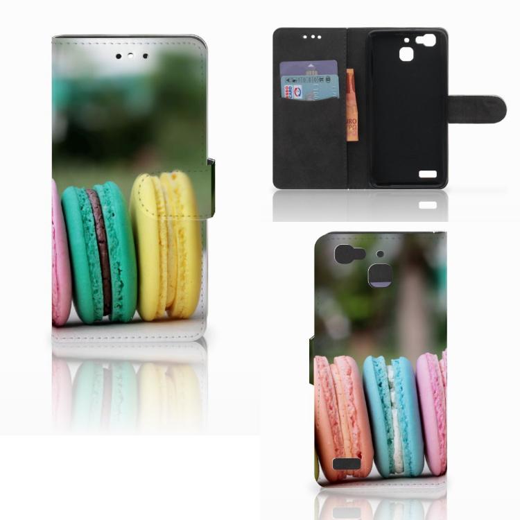 Huawei P8 Lite Smart (GR3) Book Cover Macarons