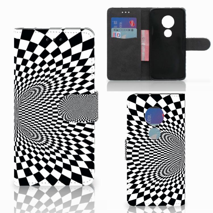 Motorola Moto G7 Play Bookcase Illusie