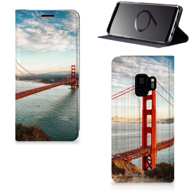 Samsung Galaxy S9 Book Cover Golden Gate Bridge