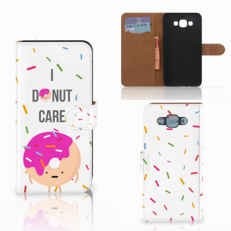 Samsung Galaxy E7 Book Cover Donut Roze