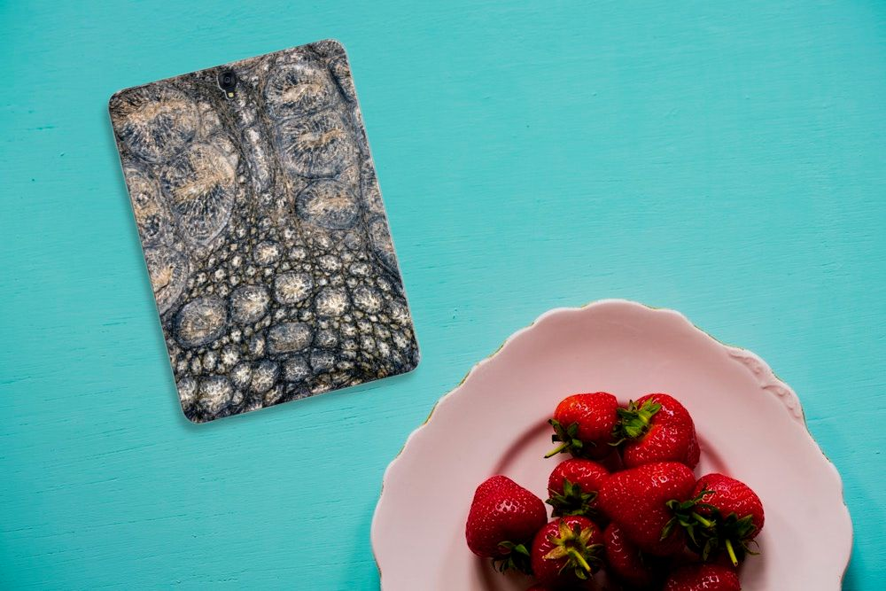 Samsung Galaxy Tab S3 9.7 Back Case Krokodillenprint
