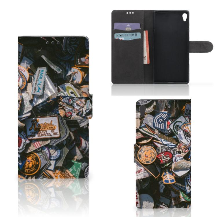 Sony Xperia XA Ultra Telefoonhoesje met foto Badges