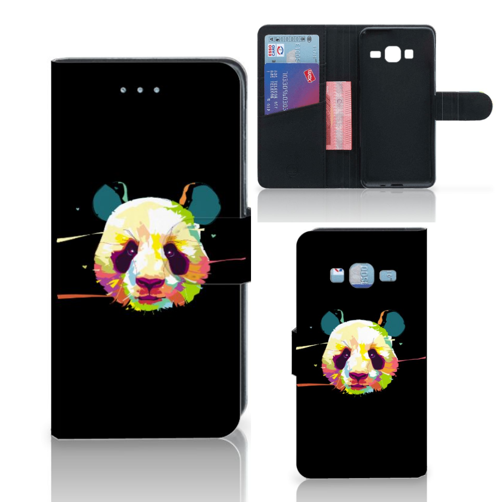 Samsung Galaxy J3 2016 Leuke Hoesje Panda Color