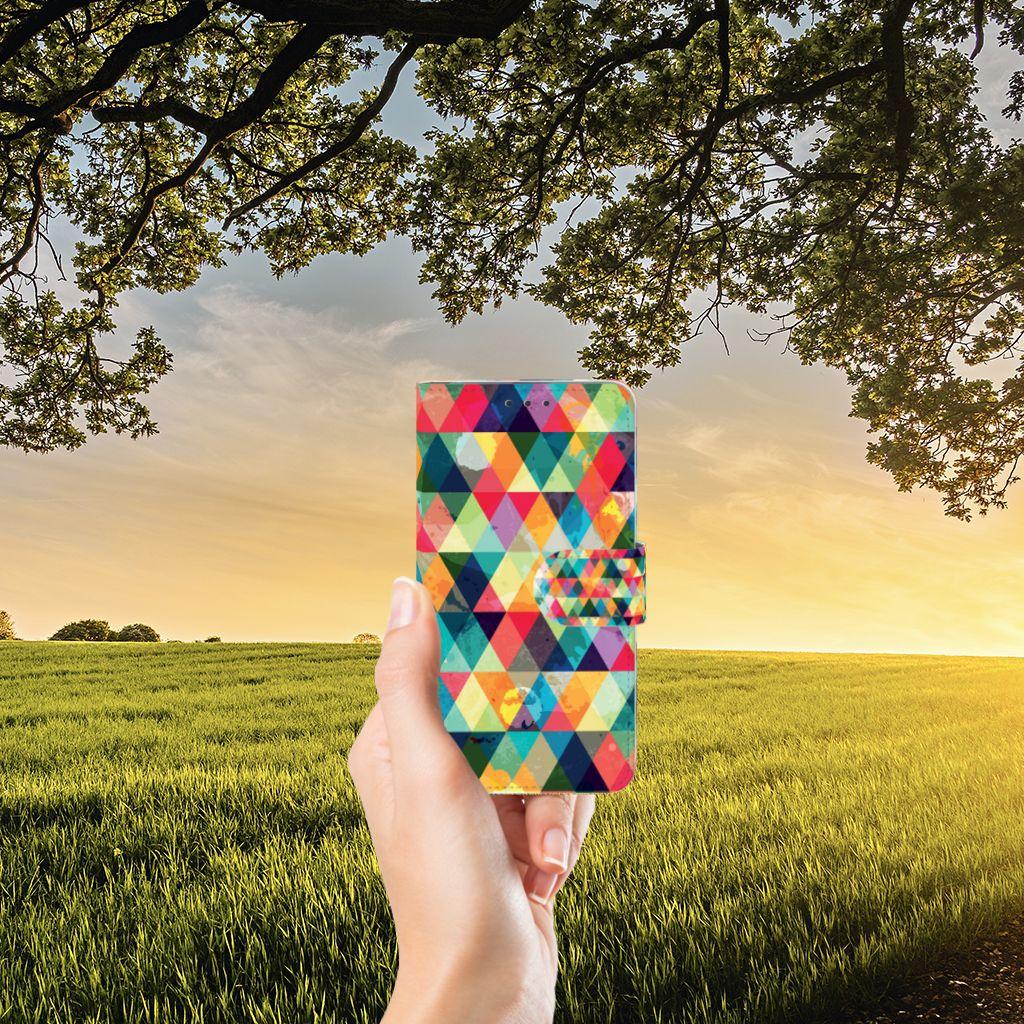 Microsoft Lumia 640 Telefoon Hoesje Geruit