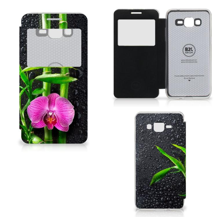 Samsung Galaxy Grand Prime Hoesje Orchidee