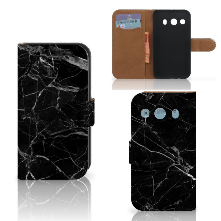 Samsung Galaxy Ace 4 4G (G357-FZ) Bookcase Marmer Zwart