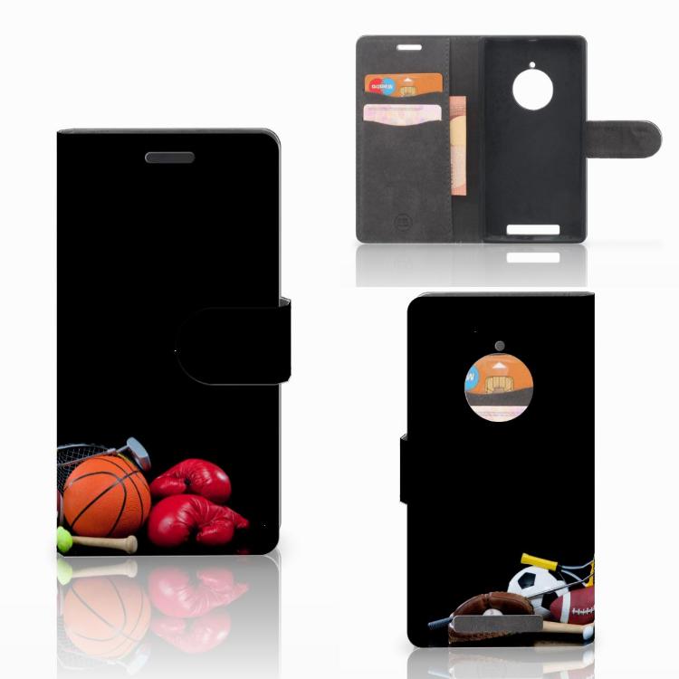Nokia Lumia 830 Uniek Boekhoesje Opbergvakjes Sport