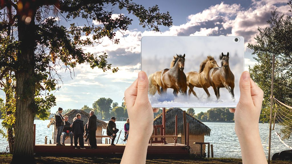 Lenovo Tab M10 Back Case Paarden