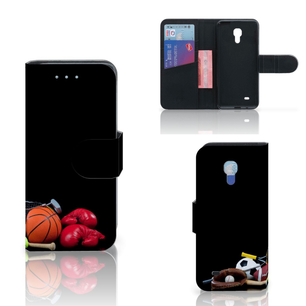 Samsung Galaxy S4 Mini Uniek Ontworpen Bookstyle Case Sport