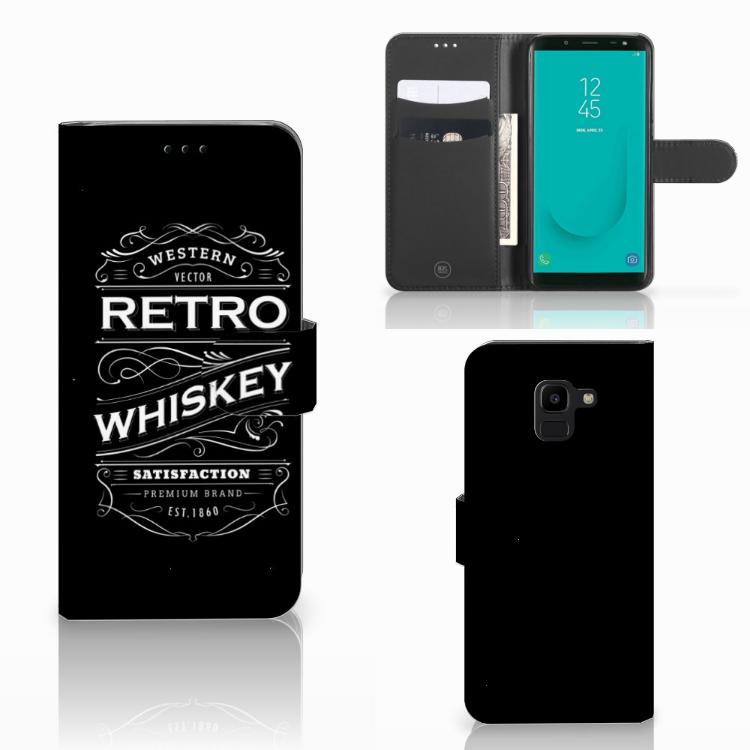 Samsung Galaxy J6 2018 Book Cover Whiskey