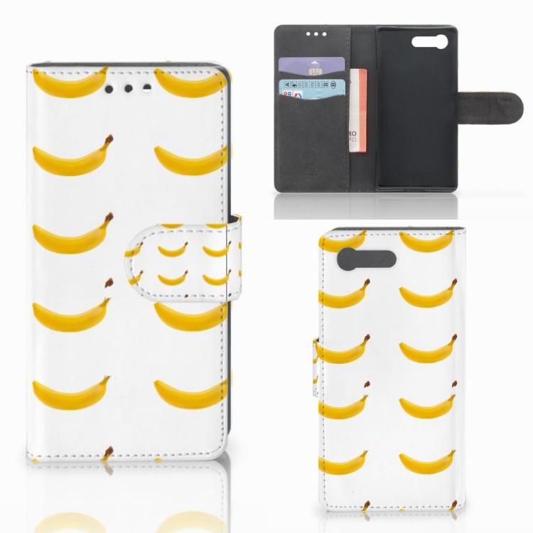 Sony Xperia X Compact Book Cover Banana