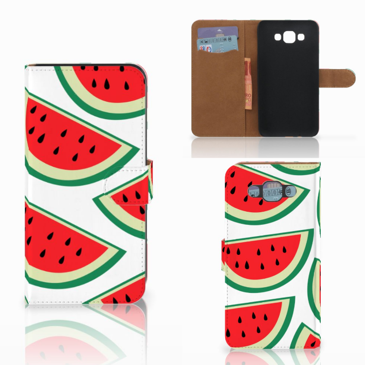 Samsung Galaxy E7 Book Cover Watermelons
