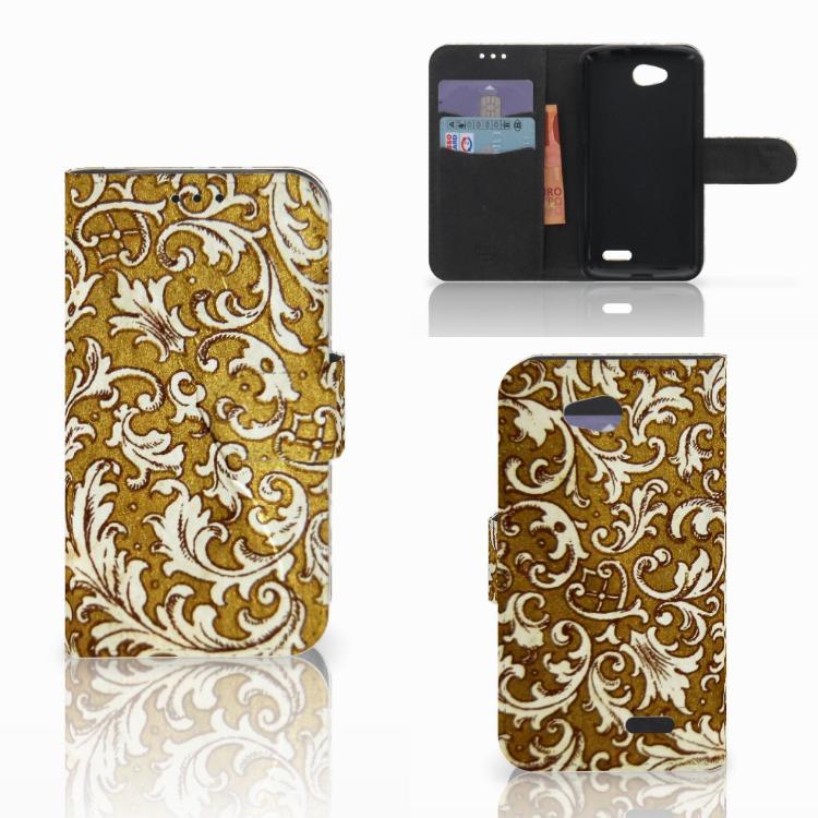 Wallet Case LG L90 Barok Goud