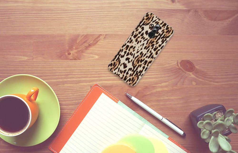 Huawei Mate 20 Lite Uniek TPU Hoesje Leopard