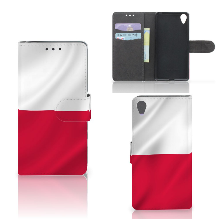Sony Xperia X Bookstyle Case Polen