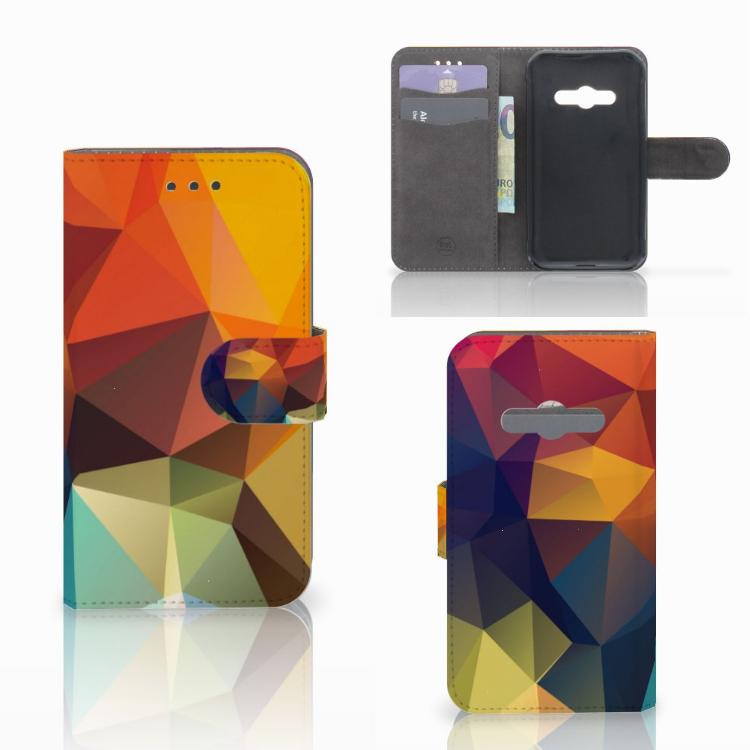 Samsung Galaxy Xcover 3 | Xcover 3 VE Bookcase Polygon Color