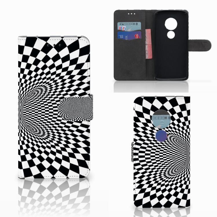 Motorola Moto E5 Bookcase Illusie