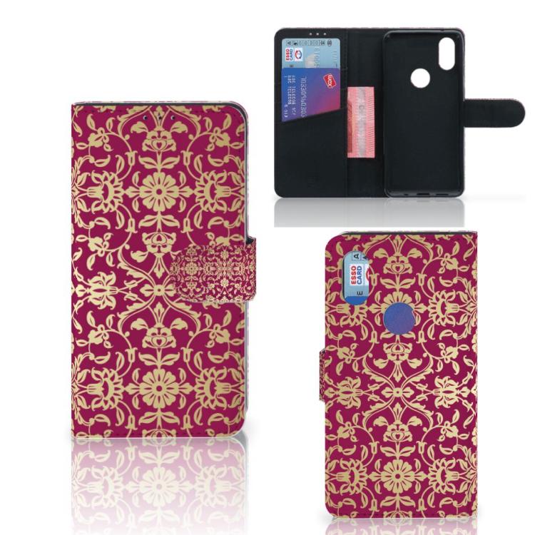 Wallet Case Xiaomi Mi Mix 2s Barok Pink