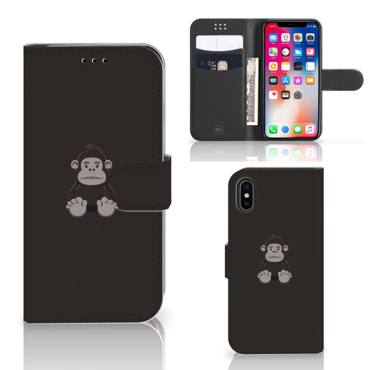 Apple iPhone X | Xs Leuk Hoesje Gorilla