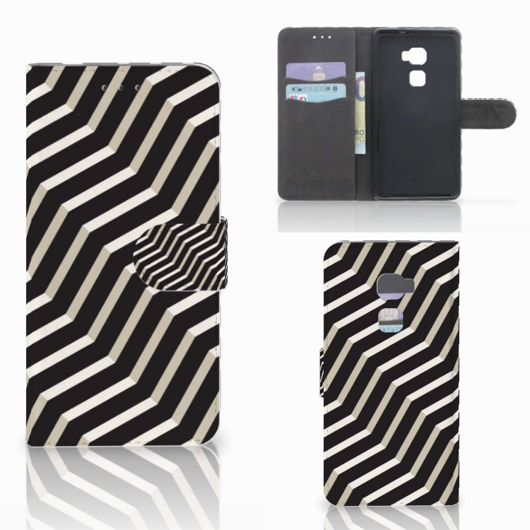 Huawei Mate S Bookcase Illusion