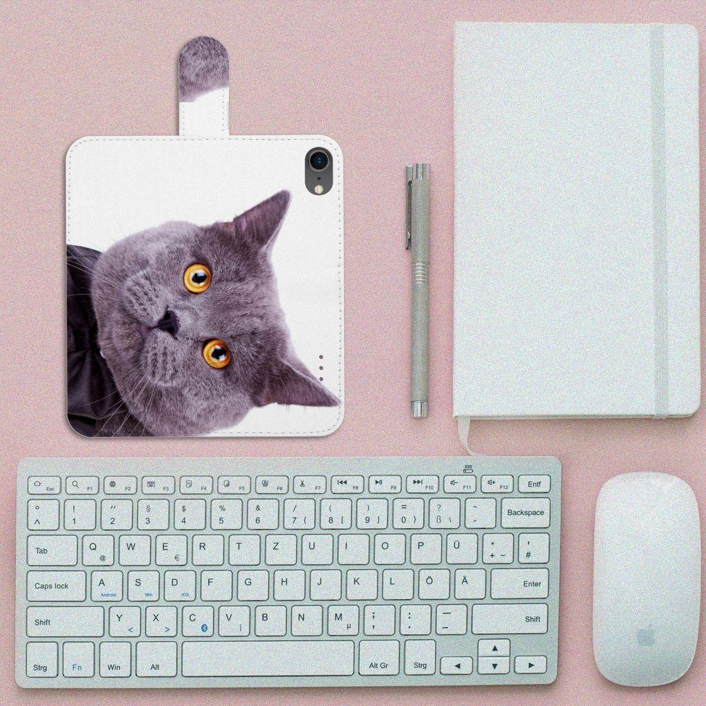 iPhone 7 | 8 | SE (2020) Telefoonhoesje met Pasjes Kat
