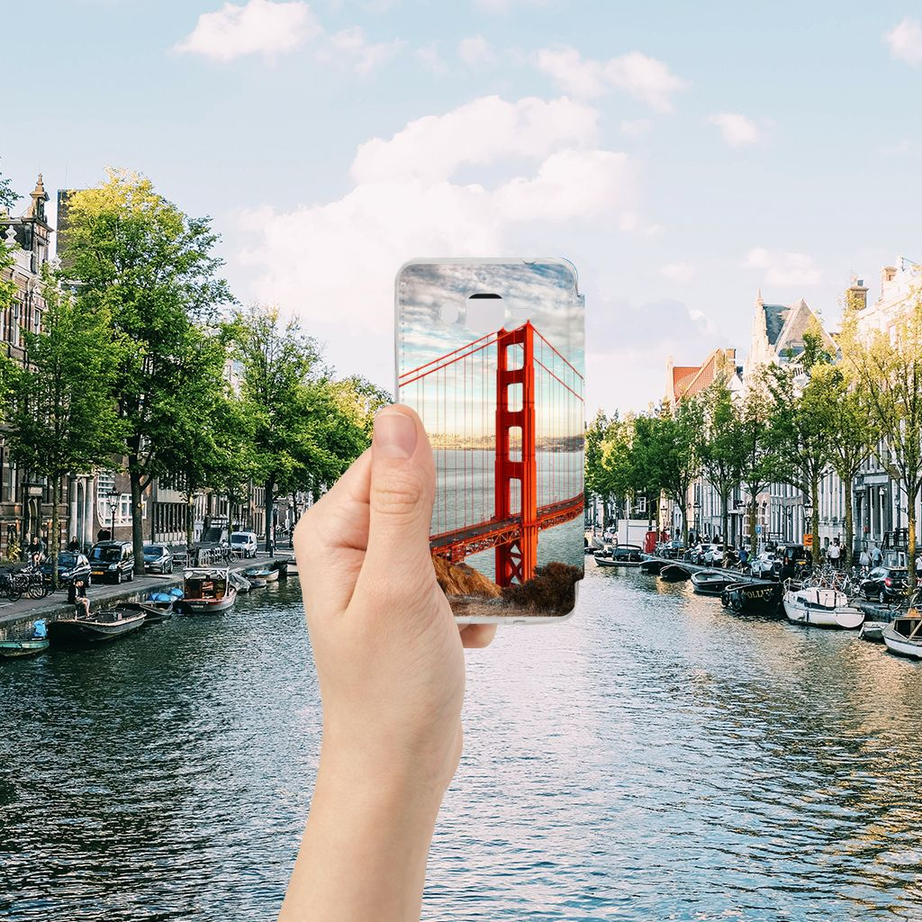 Samsung Galaxy Grand Prime Flip Cover Golden Gate Bridge