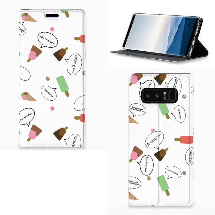 Samsung Galaxy Note 8 Flip Style Cover IJsjes