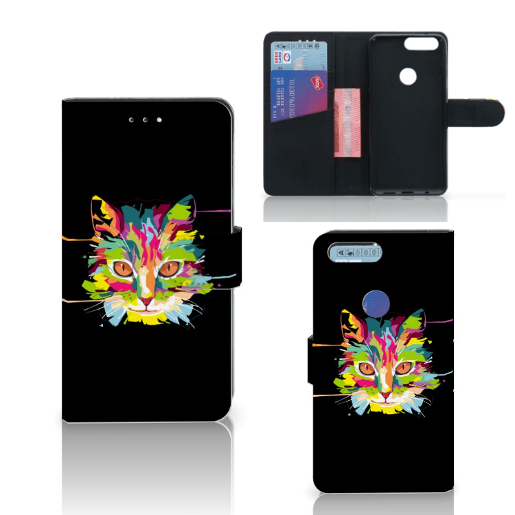 OnePlus 5T Leuk Hoesje Cat Color
