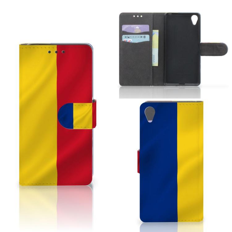 Sony Xperia X Bookstyle Case Roemenië