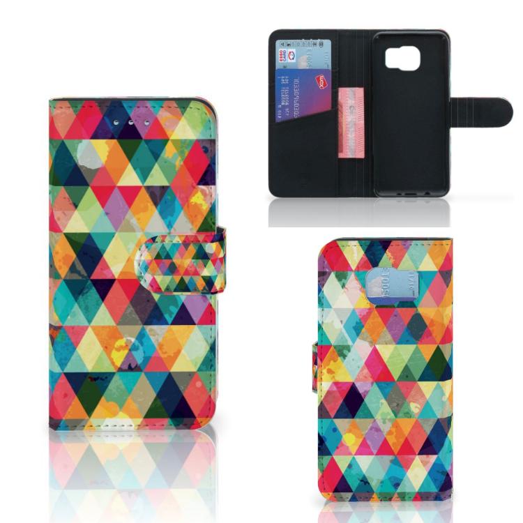 Samsung Galaxy S6 | S6 Duos Telefoon Hoesje Geruit