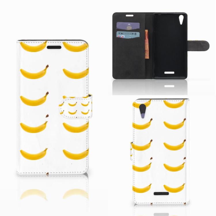 Sony Xperia T3 Book Cover Banana