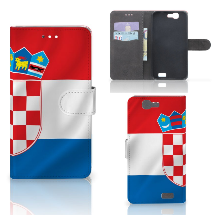 Huawei Ascend G7 Bookstyle Case Kroatië