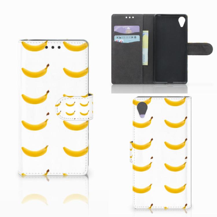 Sony Xperia X Performance Book Cover Banana