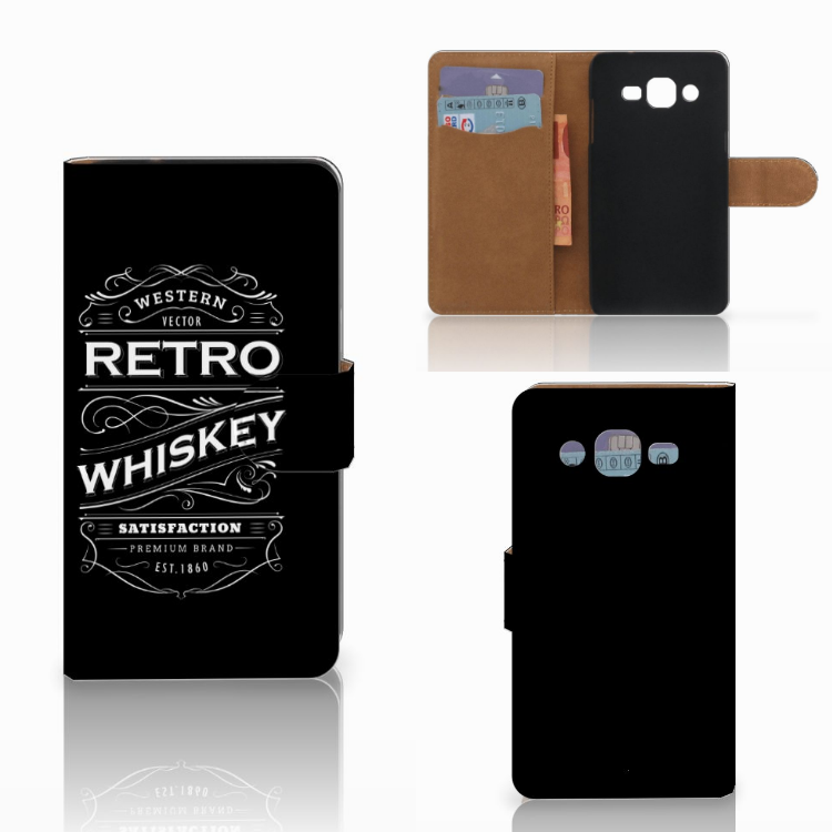 Samsung Galaxy J2 (2015) Book Cover Whiskey