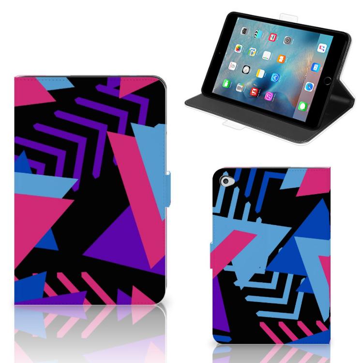 Apple iPad Mini 5 Tablet Beschermhoes Funky Triangle