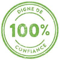 100% digne de confiance