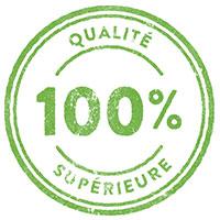 100% Qualité supérieure