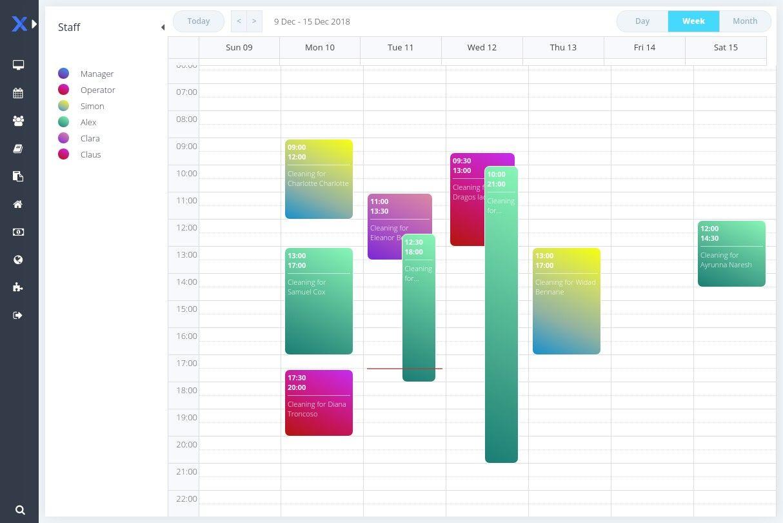 online scheduler for caregiving business