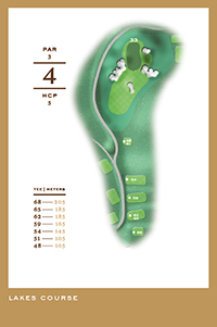 Lakes Course - hål 4