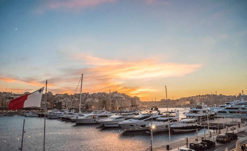 Enjoy the Maltese sunset!