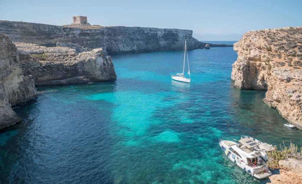 The Blue seas of Malta