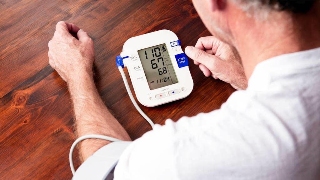 Blood pressure reader machine