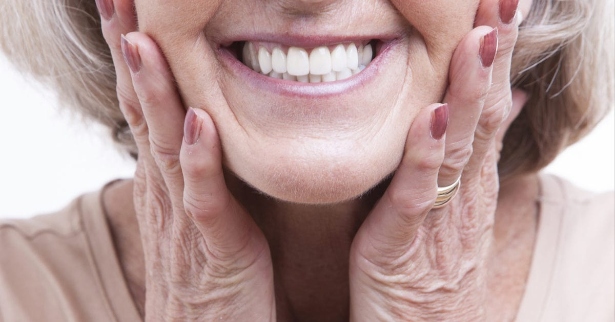 Dentures improve the appearance of your smile and give you confidence.