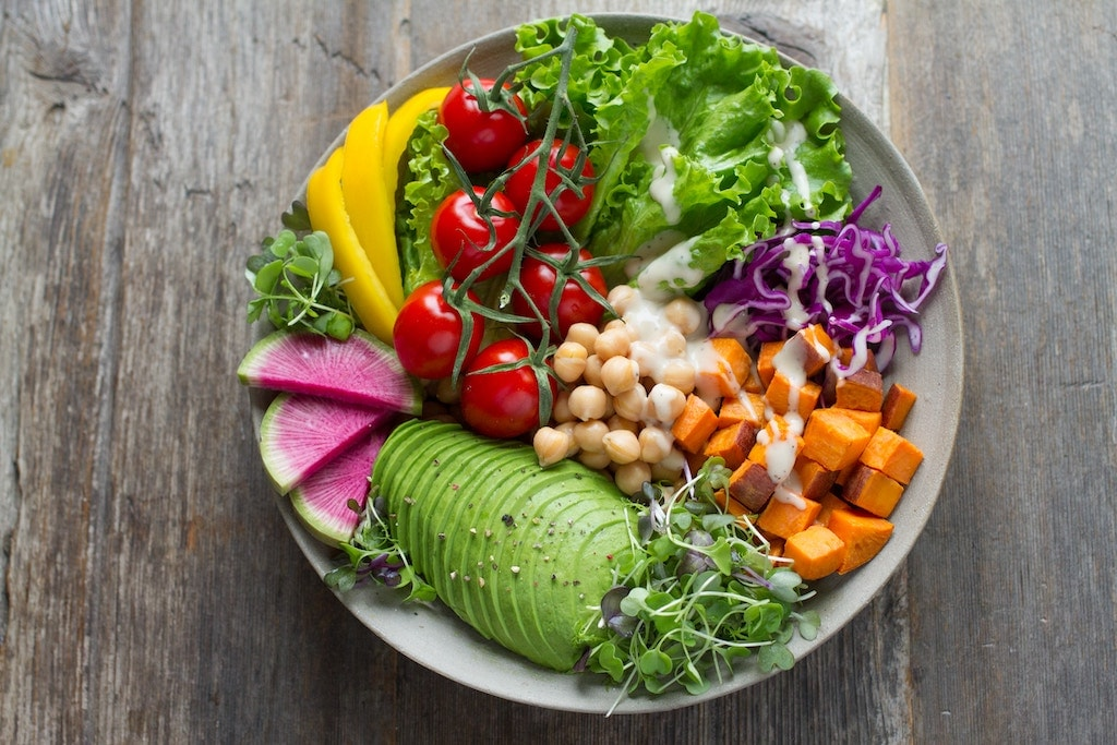 Health foods help.