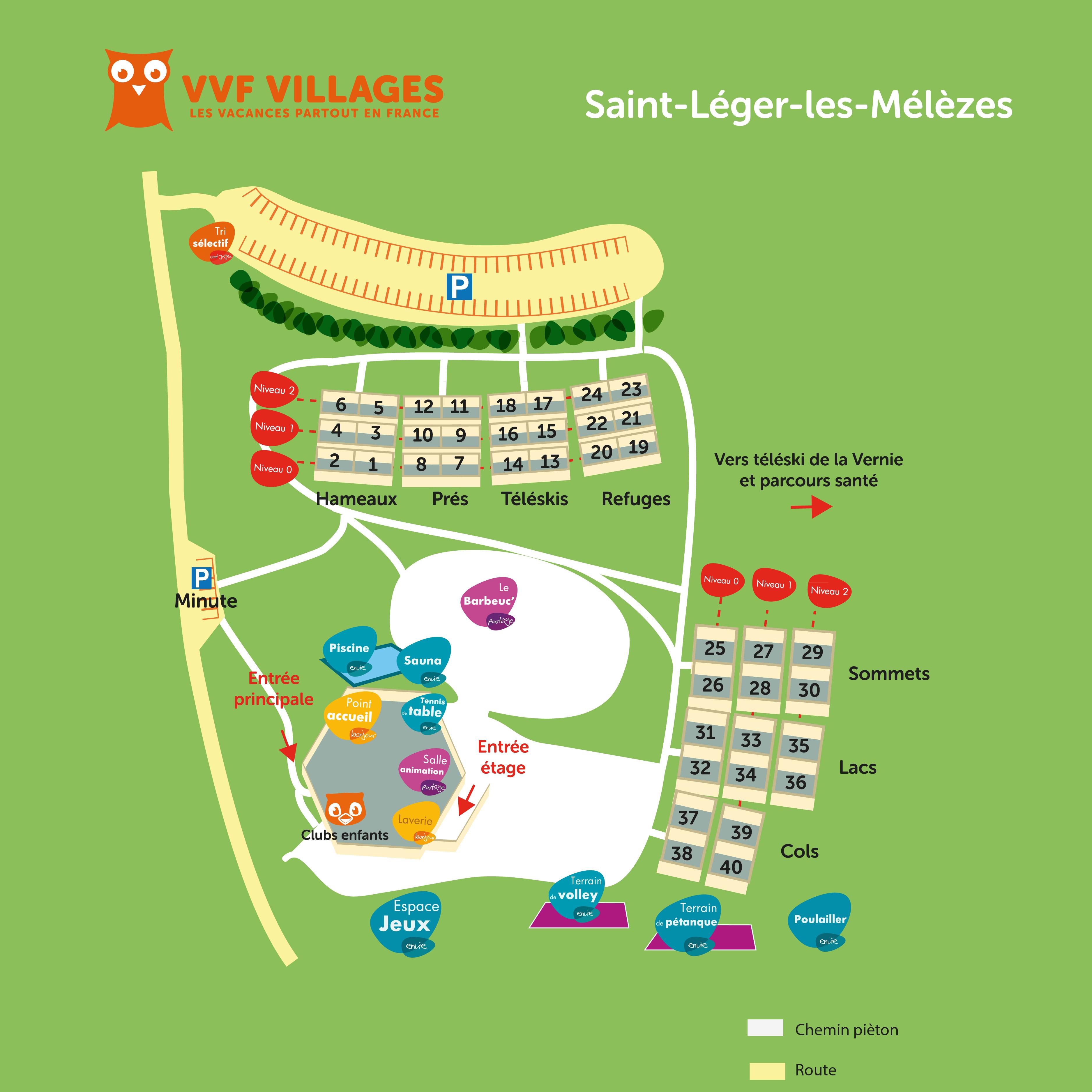 Vacances saint l ger les m l zes avec vvf villages - Office du tourisme st leger les melezes ...