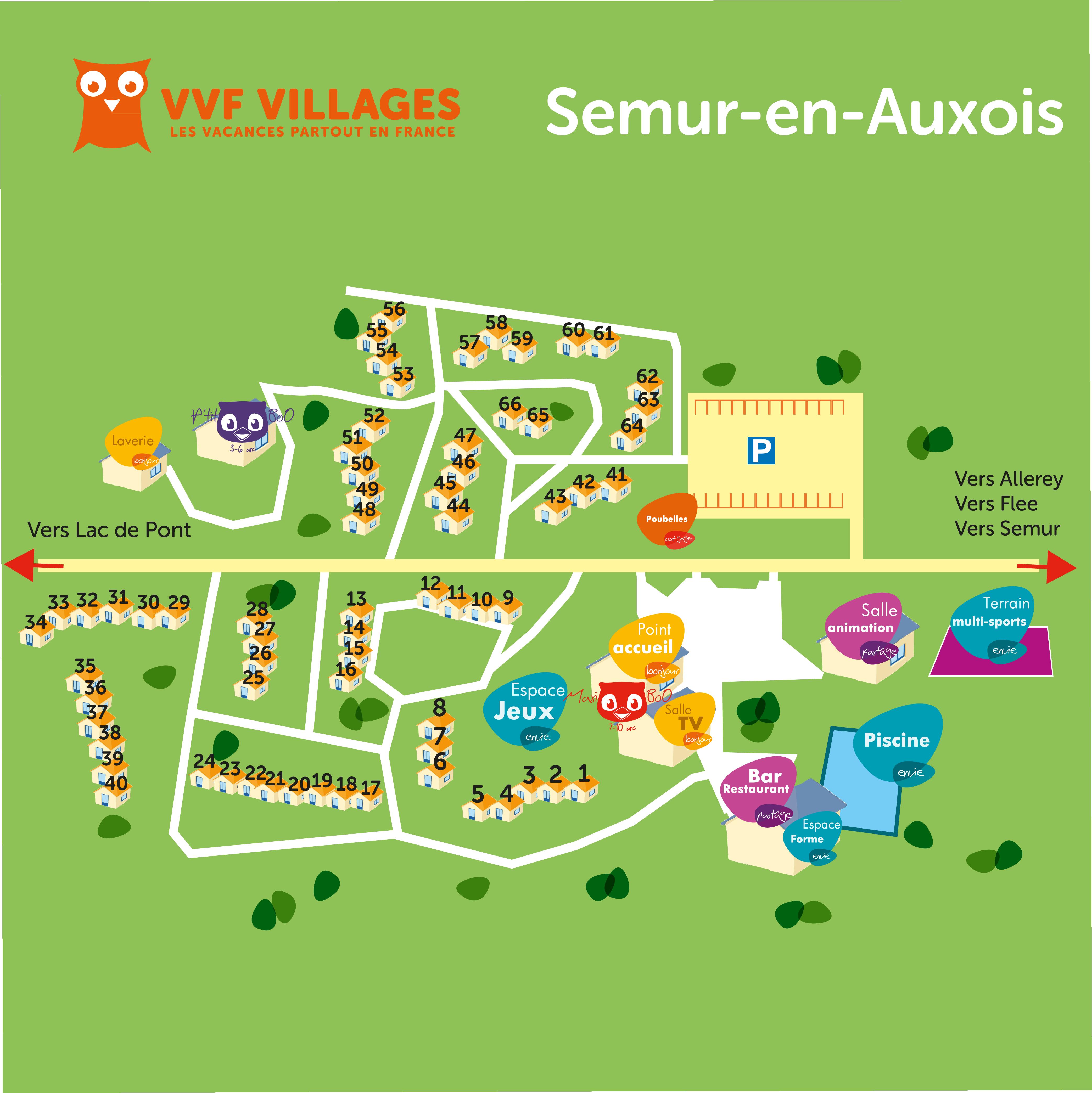 Vacances semur en auxois avec vvf villages for Village vacances gers avec piscine