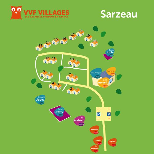 Plan du village de Sarzeau